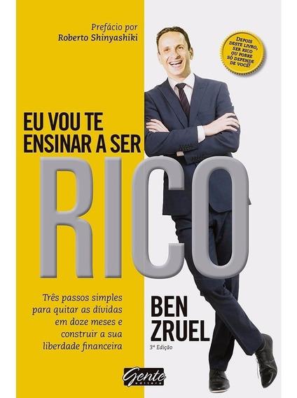 Livro - Eu Vou Te Ensinar A Ser Rico #