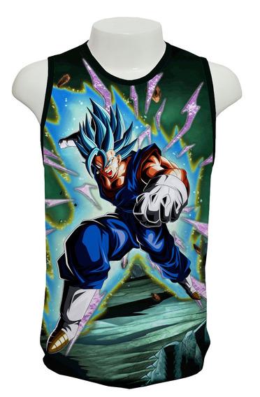 Camiseta Vegetto Blue Ml02 - Regata