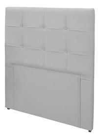 Cabeceira Solteiro Colchão Box 88cm Corino Clean - Simbal
