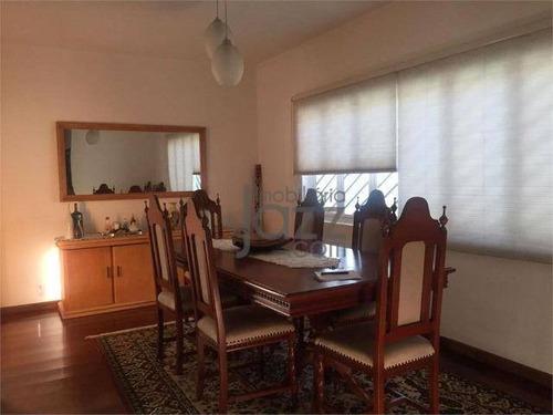Casa Com 3 Dormitórios À Venda, 300 M² Por R$ 750.000 - Jardim Chapadão - Campinas/sp - Ca6486