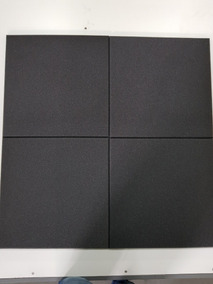 Espuma Acústica Kit C/ 35 Placas - 50cm X 50cm X 2cm - Lisa