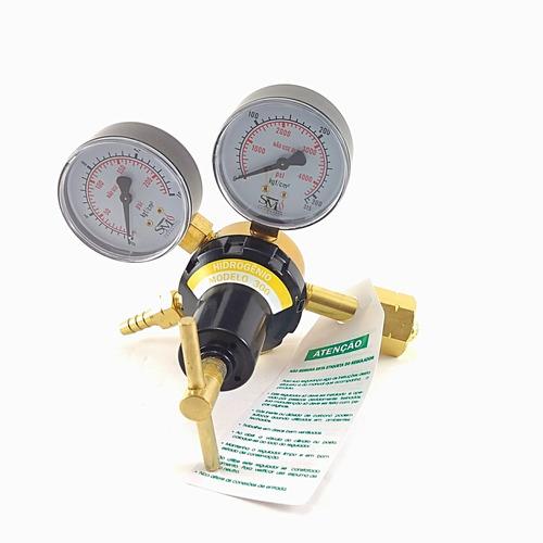 Imagem 1 de 3 de Regulador De Pressão Para Hidrogênio