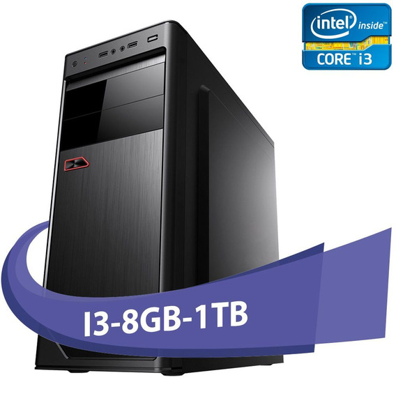 Computador Micro Rio I3-550 8gb Hd 1tb