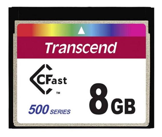 Cartão De Memória Cfast 8gb Ts8gcfx500 500x Industrial Grad