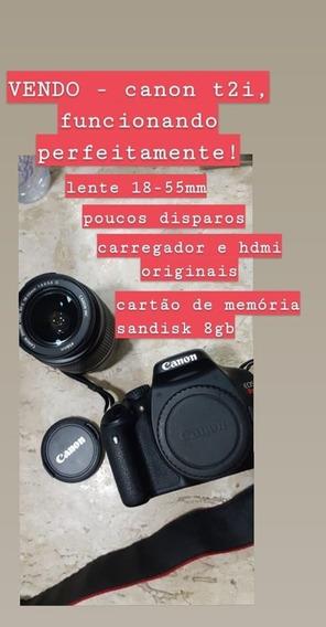 Câmera Digital Canon T2i
