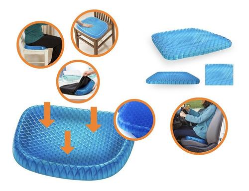 Asiento Cojin Gel Confortable Para Sillas Auto Oficina