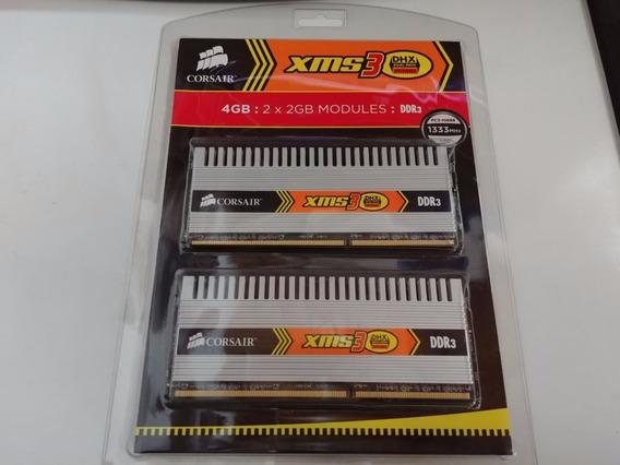 Memorias Corsair Xms3 Dhx 2x2gb 4gb Ddr3 1333mhz Pc3-10600