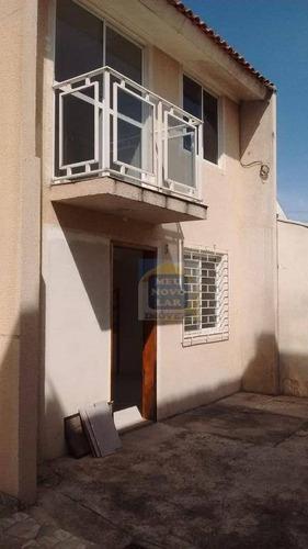 Imagem 1 de 28 de Sobrado Com 2 Dormitórios Para Alugar, 70 M² Por R$ 900,00/mês - Cidade Industrial - Curitiba/pr - So0203