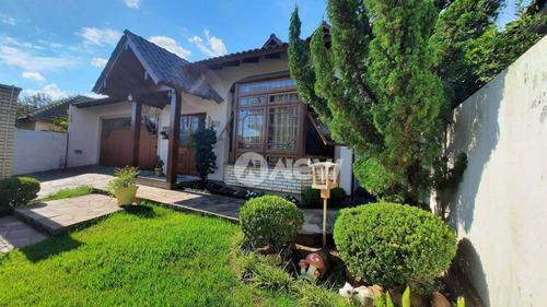 Imagem 1 de 24 de Casa Com 3 Dormitórios À Venda, 220 M² Por R$ 599.000,00 - Scharlau - São Leopoldo/rs - Ca3759