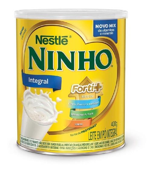Leite Em Pó Ninho Forti+ Integral 400g