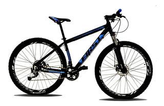 Bicicleta First Alivio Susp Trava Freio 27v Hidraulico Shima