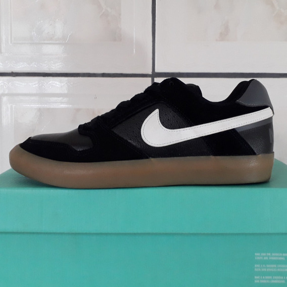 Tênis Nike Sb Delta Force Vulc Masculino Preto Original