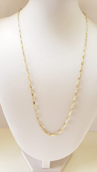 Cordao De Ouro 18k 750 Oca Alongada 60cm Masculino Cartier