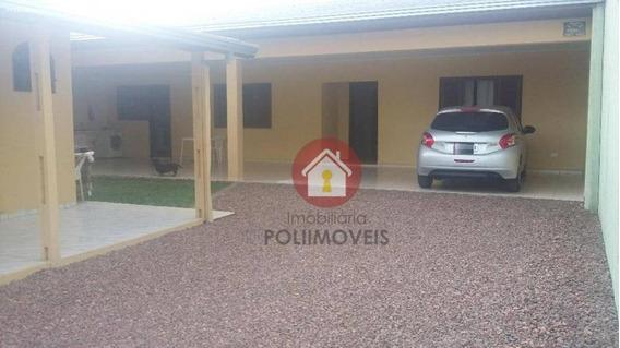 Casa Para Venda Em Araucária, Campina Da Barra, 2 Dormitórios, 1 Suíte, 2 Banheiros, 3 Vagas - Ca0162_2-722699