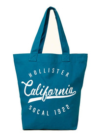 Bolsa Hollister By Abercrombie California 100% Original