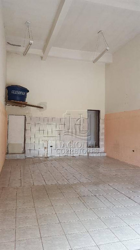 Salão Comercial Para Locação, Jardim Ana Maria, Santo André. - Sl0635