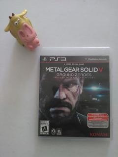 Metal Gear Solid 5 Ground Zeroes Ps3 Garantizado