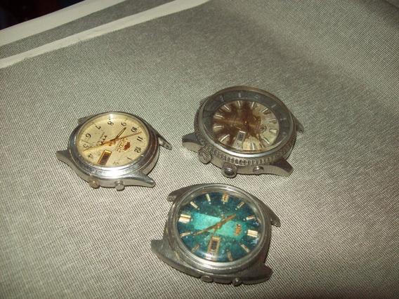 Lote Relógio De Pulso Orient( Coleção Scholberg Prata Joias