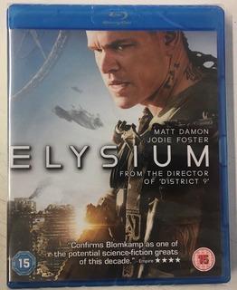 Blu Ray Elysium Masterizada 4k ( Oferta)