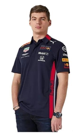 Polo Red Bull Puma F1 Verstappen Gasly Autentica Linea 2019