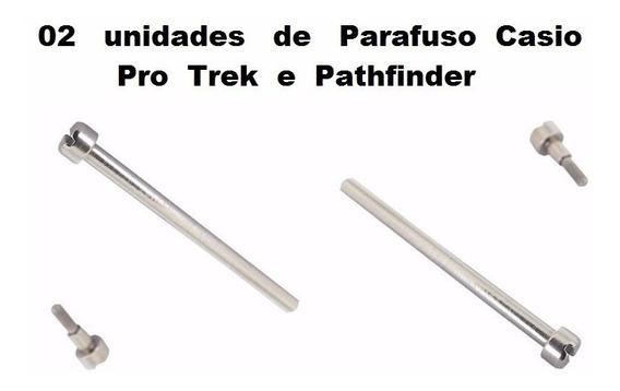 Pinos Fixação Pulseira Casio Prg-40 Prg-130 Pag-40 Prg-240
