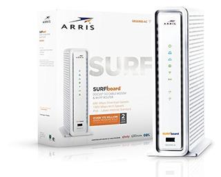 Arris Surfboard Sbg6900ac Docsis 30 16x4 Cable Modemwifi Ac1