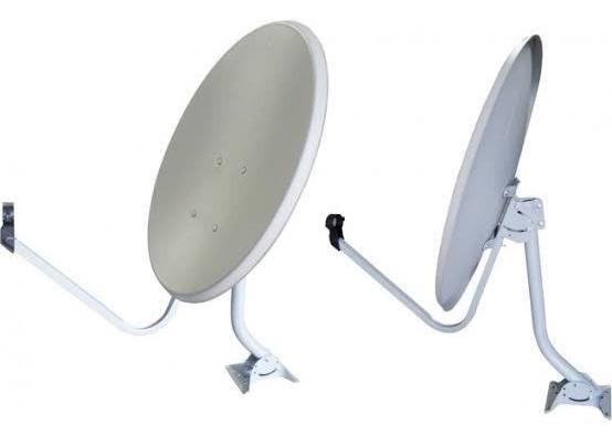 4 Antenas Ku + Lnb + 100 Metros Cabo + Conectores