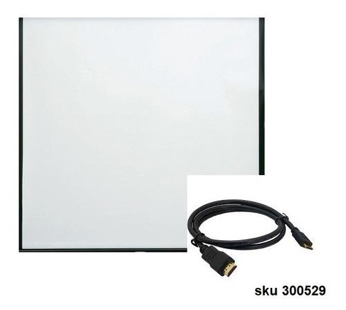Telon Pantalla Para Proyector 80pu Gratis Cable Y Envio W11