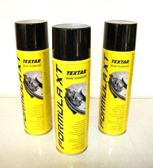 3 Limpador De Freio Spray De 500 Ml - Textar