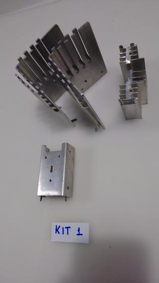 Dissipador De Alumínio - Kit - Robótica- Arduino -automação