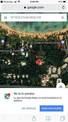 Solar Cerca D/l Playa En Res. El Portillo, Las Terrenas