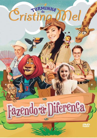 Dvd Turminha Da Cristina Mel - Fazendo A Diferença - Lacrado