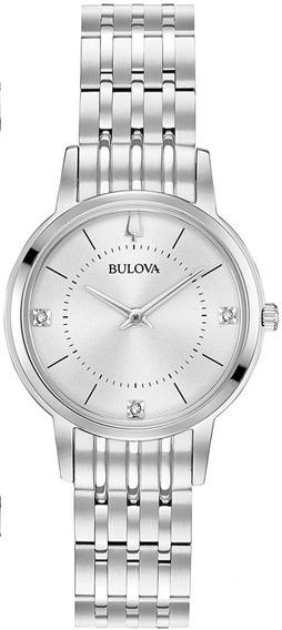 Relógio Bulova Feminino Classic Diamond 96p183