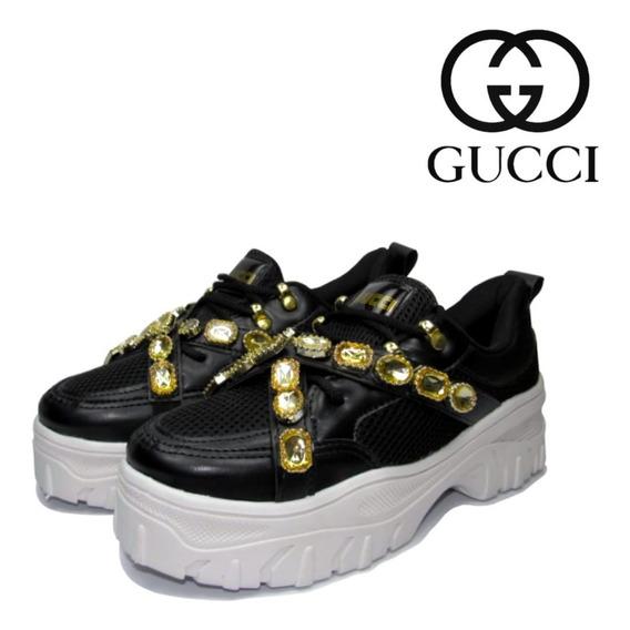 Tênis Gucci Sneaker Lançamento Frete Gratis + Brinde