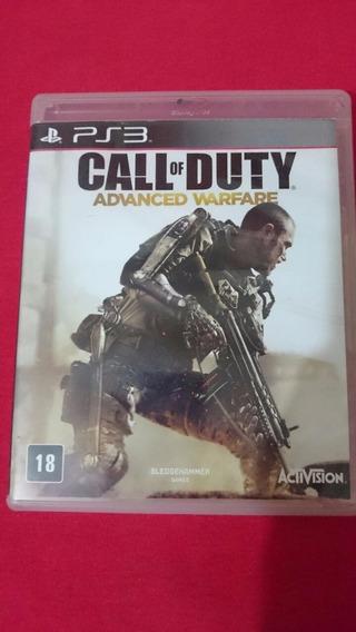 Call Of Duty Advanced Warfare Ps3 Midia Fisica Frete R$10