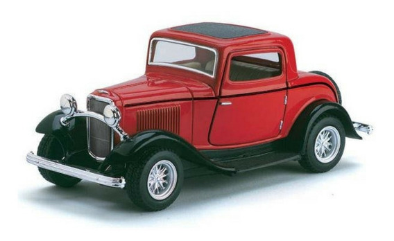 Miniatura Ford Coupe 1932 Escala 1:32 Metal