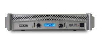 Amplificador De Potencia Proco Pax 700 V2 Dj 700w