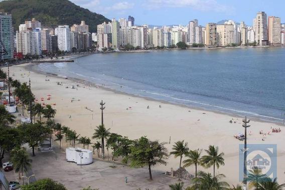 Apartamento Com 1 Dormitório À Venda, 32 M² Por R$ 140.000 - Gonzaguinha - São Vicente/sp - Ap3749