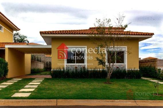 Casa Com 3 Dormitórios À Venda, 131 M² Por R$ 615.000 - Condomínio Porto Alegre - Paulínia/sp - Ca1084