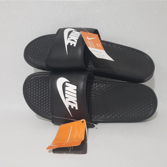 Nike Benassi Just Do It Chinelo Masculino Preto Original