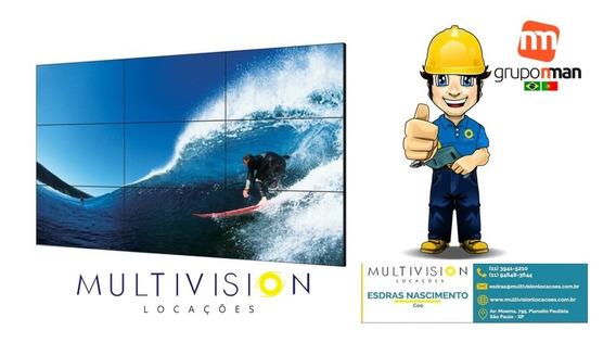 Instalação Suporte E Montagem Vídeo Wall 4k Multivision Loca