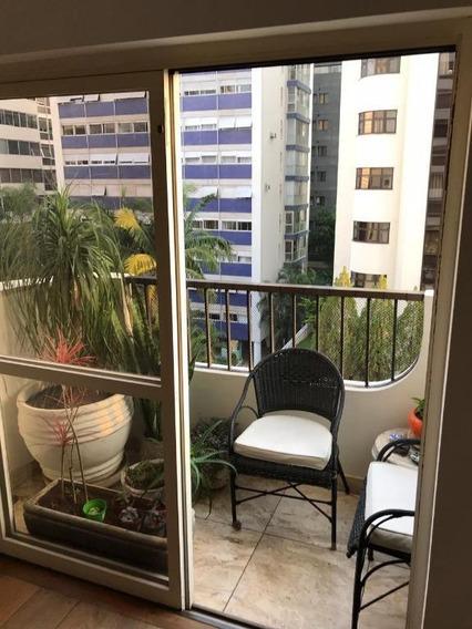 Apartamento Com 3 Dormitórios Para Alugar, 113 M² Por R$ 6.700,00 - Higienópolis - São Paulo/sp - Ap19873