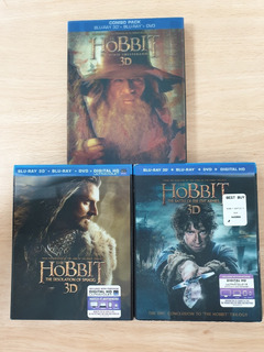 The Hobbit Trilogy Collection [blu-ray Disc 3d]