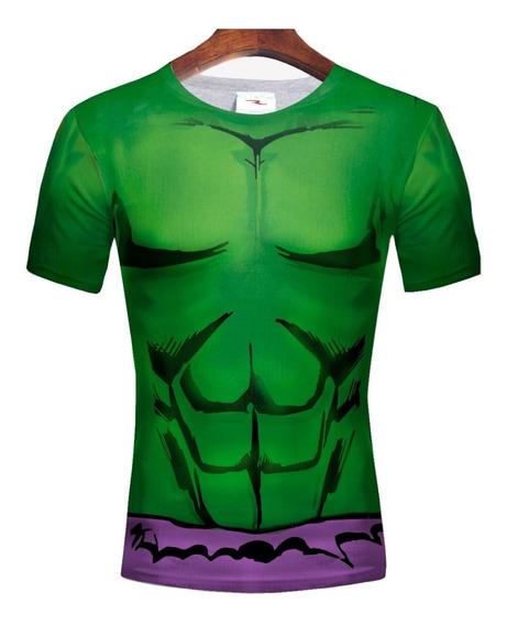 Remera Slim Fit Hulk Ranwey Pr184