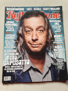 Revista Rolling Stone Nº 148 Julio 2010 - Ozzy Waters Cerati
