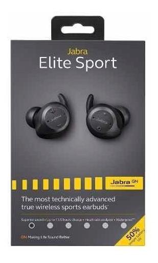 Jabra Elite Sport Earbud Versão Nova 4.5 Hour Pronta Entrega