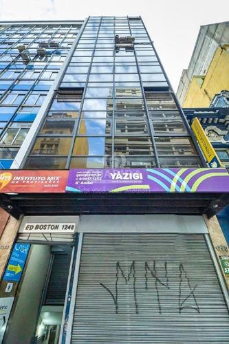 Imagem 1 de 15 de Conjunto/sala Comercial Para Aluguel, Centro - Porto Alegre/rs - 7388