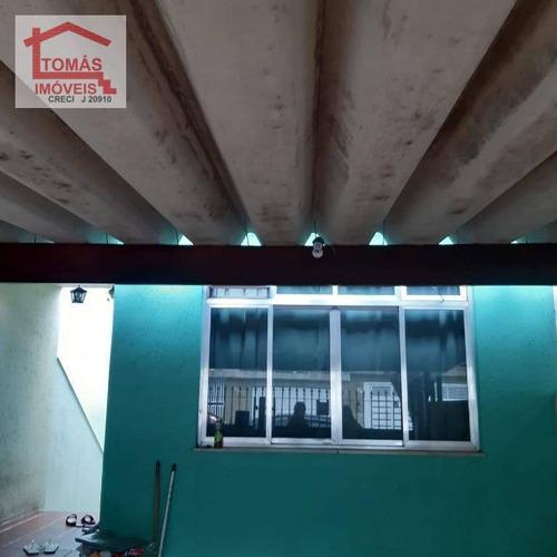 Imagem 1 de 12 de Casa Assobradada Com Corredor Lateral - Ca0956