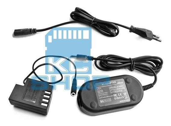 Fonte Adaptador Ac Dmw-ac8 Dcc12 P/ Lumix Dmc-gh3 Gh4 Gh5