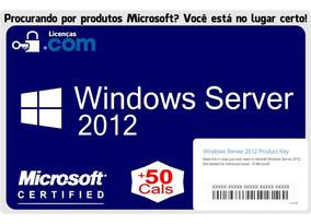 Windows Server 2012 R2 Std Esd 50 Cals Nota Fiscal Garantia
